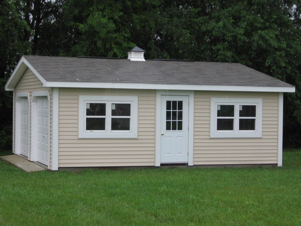 Modular sheds for Modular homes with garages