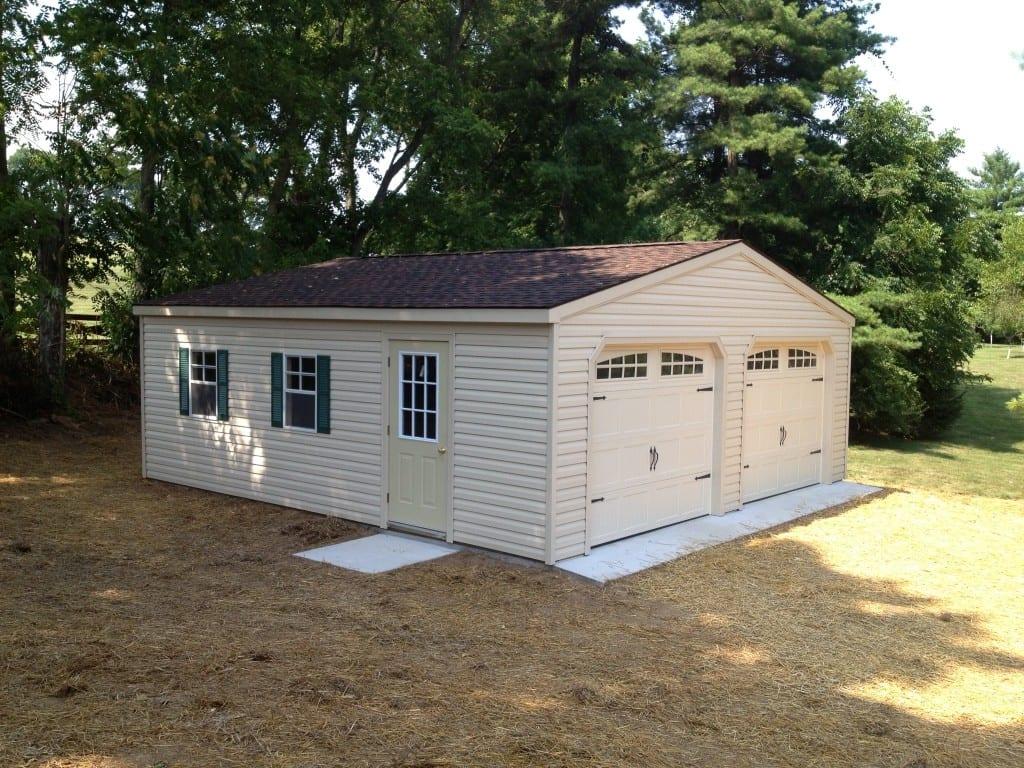 Modular garage latest shown x aframe car story garage for Modular carriage house garage