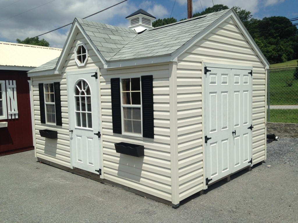 Sold 1886 10 215 14 Vinyl Storage Shed For Sale 3104
